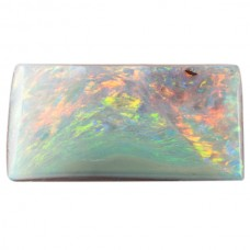 Rectangle Genuine Boulder Opal Single Stone(s)