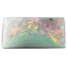 Rectangle Genuine Boulder Opal Single Stone(s)
