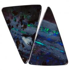 Triangle Genuine Boulder Opal Single Stone(s)
