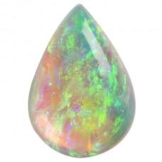Pear Genuine Cab Opal Single Stone(s)