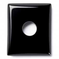 Cushion Genuine Buff Top Misc Drilled Black Onyx