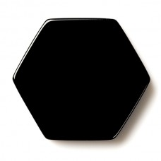 Hexagon Genuine Buff Top Black Onyx