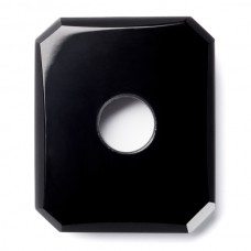 Octagon Genuine Buff Top Misc Drilled Black Onyx