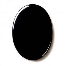 Oval Genuine Buff Top Black Onyx