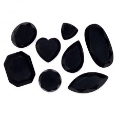 Black Onyx Genuine Faceted