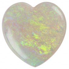 Heart Genuine Cab Opal