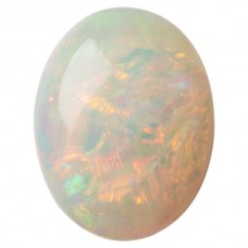 Oval Genuine Cab Opal
