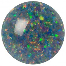 Round Genuine Low Dome Cab Opal Triplet
