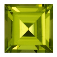 Square Genuine Peridot Single Stone(s)