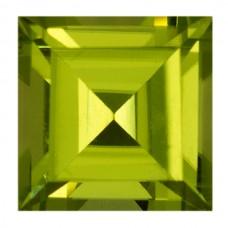 Square Genuine Peridot Single Stone(s)