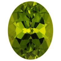 Oval Genuine Peridot Single Stone(s)