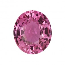 Oval Genuine Pink Sapphire Single Stone(s)