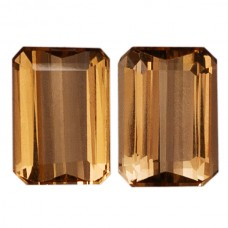 Octagon Genuine Precious Topaz Single Stone(s)