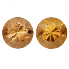 Round Genuine Precious Topaz Single Stone(s)