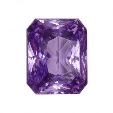 Octagon Genuine Purple Sapphire Single Stone(s)