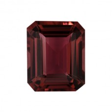 Octagon Genuine Pink Tourmaline Single Stones