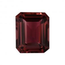 Octagon Genuine Pink Tourmaline Single Stones