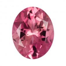 Oval Genuine Pink Tourmaline Single Stones