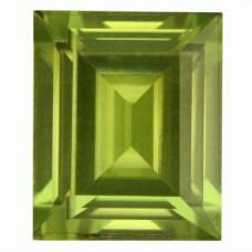 Cushion Simulated Peridot Doublet