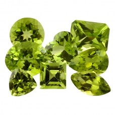 Peridot Genuine Faceted