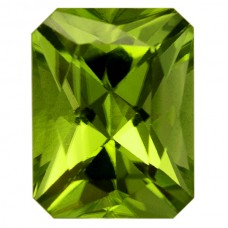 Octagon Genuine Peridot