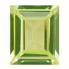 Cushion Simulated Peridot