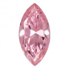 Marquise Lab Created Pink Ice Cubic Zirconia