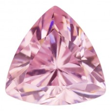 Trilliant Lab Created Pink Ice Cubic Zirconia