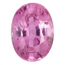 Oval Genuine Pink Sapphire