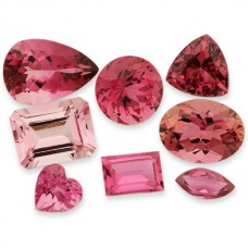 Pink Tourmaline Gen. Faceted