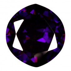 Marquise Wide Lab Created Amethyst Cubic Zirconia