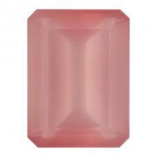 Octagon Genuine Rose Quartz Single Stone(s)