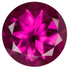 Round Genuine Rubellite Single Stone(s)