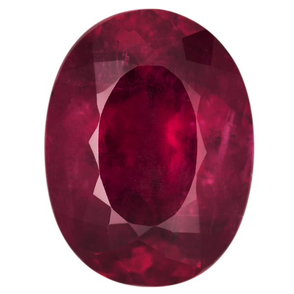 Oval Genuine Rubellite Single Stone(s)