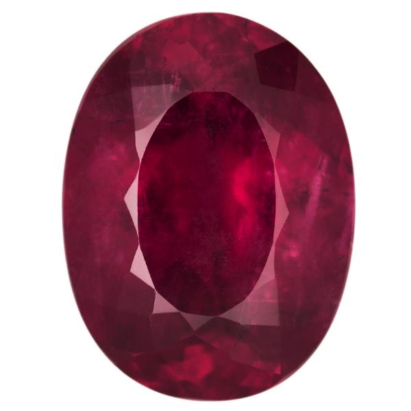 Oval Genuine Rubellite Single Stone(s)