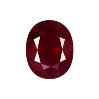Oval Genuine Ruby Single Stone(s)