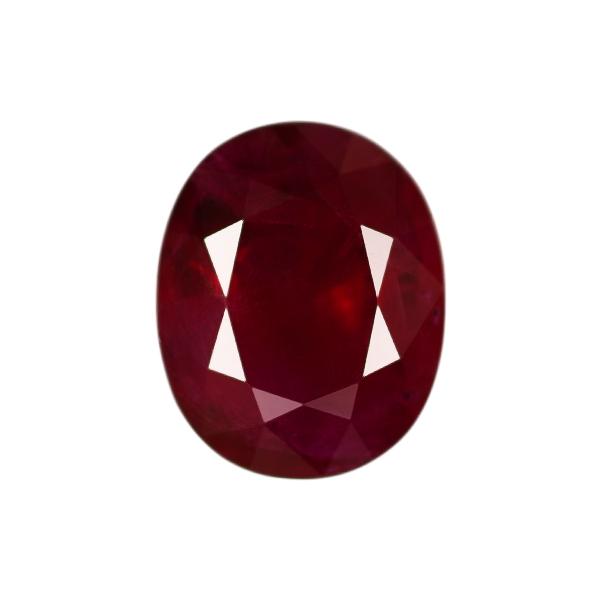 Oval Genuine Ruby Single Stone(s)