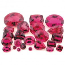 Rubellite Genuine Faceted