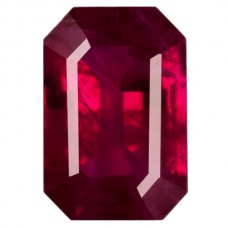 Octagon Genuine Ruby