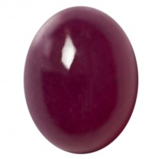 Oval Genuine Cabochon Ruby