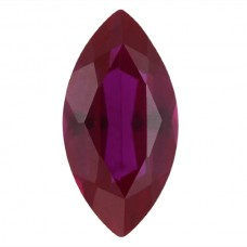 Marquise Synthetic Ruby