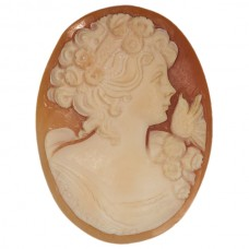Oval Genuine Shell Cameo