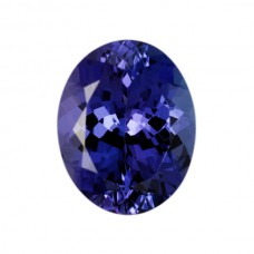 Oval Genuine Tanzanite Single Stone(s)