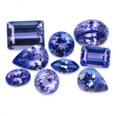 Tanzanite Genuine Faceted