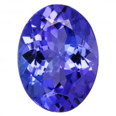 Oval Genuine Tanzanite
