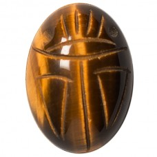 Oval Genuine Scarab Tigereye