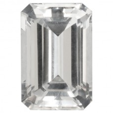 Octagon Synthetic White Spinel