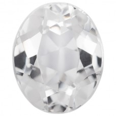Oval Synthetic White Spinel