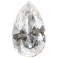 Pear Synthetic White Spinel