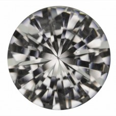 Round Synthetic White Spinel